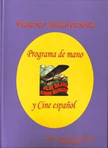 Programa de mano y Cine español.